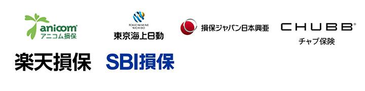 アニコム保険・東京海上日動・損保ジャパン日本興亜・チャブ保険・楽天損保・SBI損保